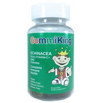 Купить Gummi King Echinacea Plus Vitamin C and Zinc For Kids 60 Gummies