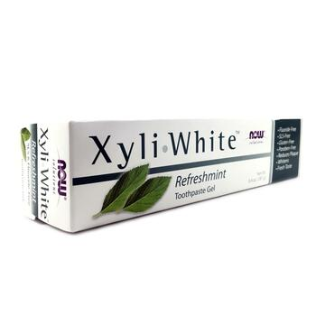 Купить Now Foods Solutions XyliWhite Toothpaste Gel Refreshmint 181 g