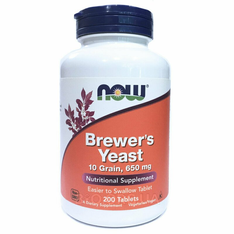 Brewer's Yeast 200 Tablets фото товара