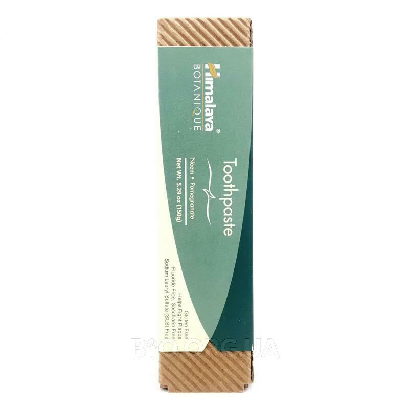 Herbal Healthcare Botanique Toothpaste Neem Pomegranate Fluori... фото товара
