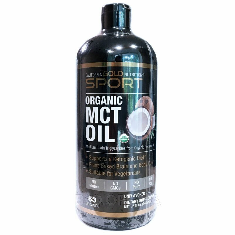 SPORTS Organic MCT Oil Unflavored 946 ml фото товара