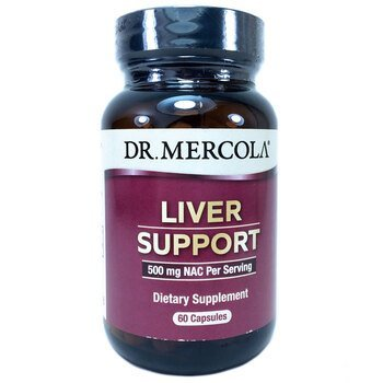 Купить Dr. Mercola Liver Support 60 Capsules