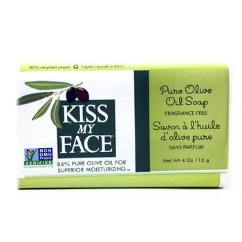 Купить Kiss My Face Pure Olive Oil Bar Soap Fragrance Free 115 g