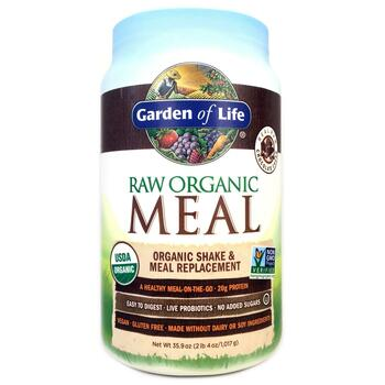Купить Garden of Life RAW Organic Meal Shake Meal Replacement Chocola...