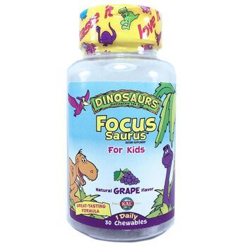 Купить Focus Saurus for Kids Grape 30 Chewables ( Focus Saurus для ді...