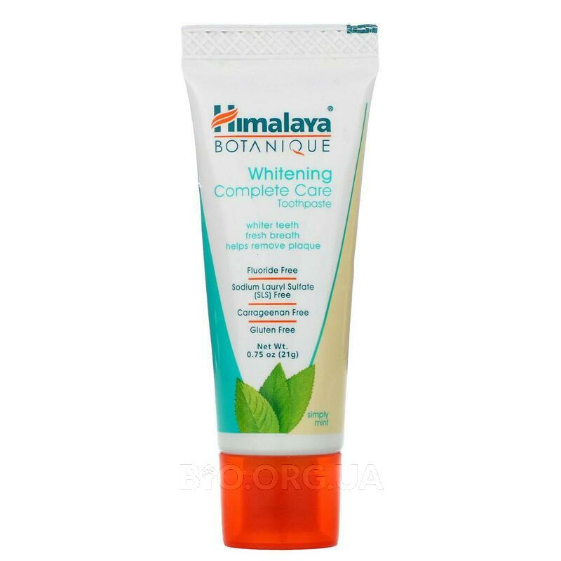 Whitening Mint Travel Toothpaste Simply Mint 21 g фото товара