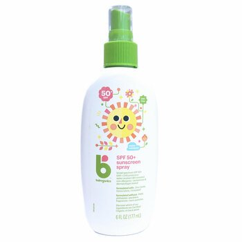 Купить BabyGanics Mineral Based Sunscreen Spray SPF 50+ 177 ml
