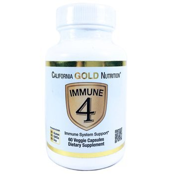 Купить California Gold Nutrition Immune 4 60 Veggie Capsules