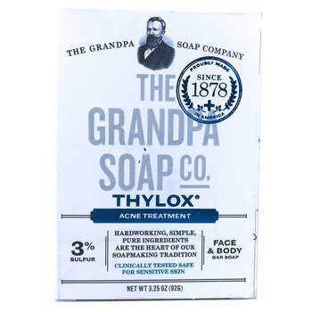 Купить Grandpas Thylox Acne Treatment Soap with Sulfur 92 g