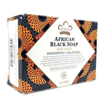 Купить Nubian Heritage African Black Soap Bar 141 g