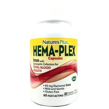 Купить Nature's Plus Hema-Plex 60 Capsules