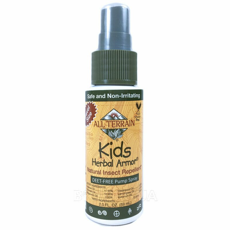 Kids Herbal Armor Natural Insect Repellent 59 ml фото товара