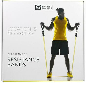 Купить Sports Research Performance Resistance Bands 5 Bands