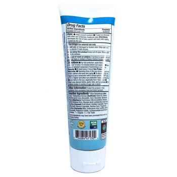Mineral Sunscreen SPF 30 Unscented 118 ml  фото состава