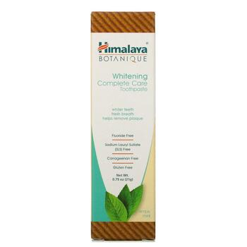 Whitening Mint Travel Toothpaste Simply Mint 21 g  фото состава