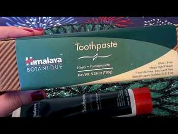 Видео обзор на Herbal Healthcare Botanique Toothpaste Neem Pomegranate Fluori...